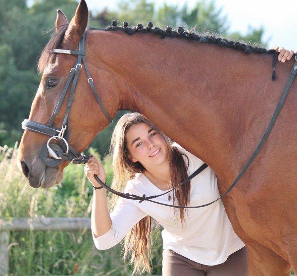 mon poney d'amour  et valou journée foto :)