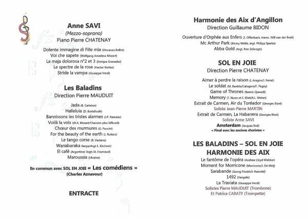 ARTICLE 982 - LES 30 ANS DE LA CHORALE