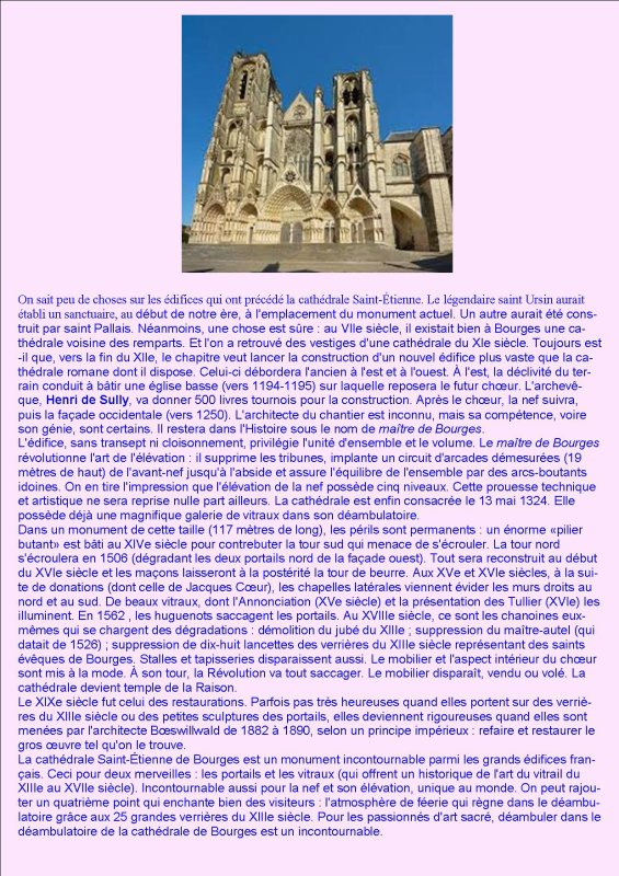 ARTICLE 1057 - MARIAGE CATHEDRALE SAINT ETIENNE DE BOURGES