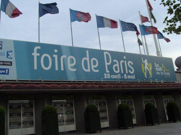 Voulez-vous faire un petit tour à la foire de PARIS ???, c'était dimanche 1 er MAI,  je vous propose qq photos de stands (j'en ai mis 2 où 3 du Canada) pour mes amies lointaines;  voiçi des choses à gouter, voir, admirer où acheter. kissssssssssss