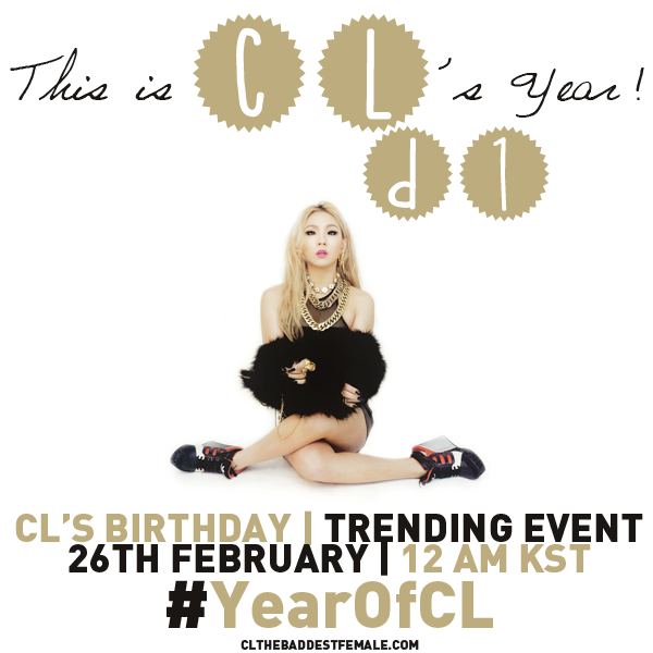 CL'S BIRTHDAY !!
