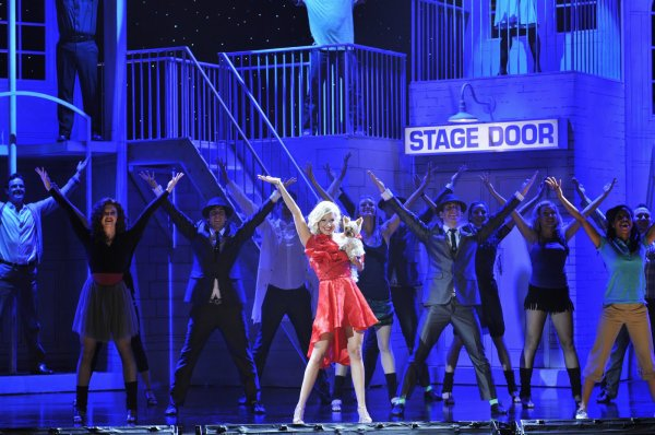 Sharpay pendant son spectacle
