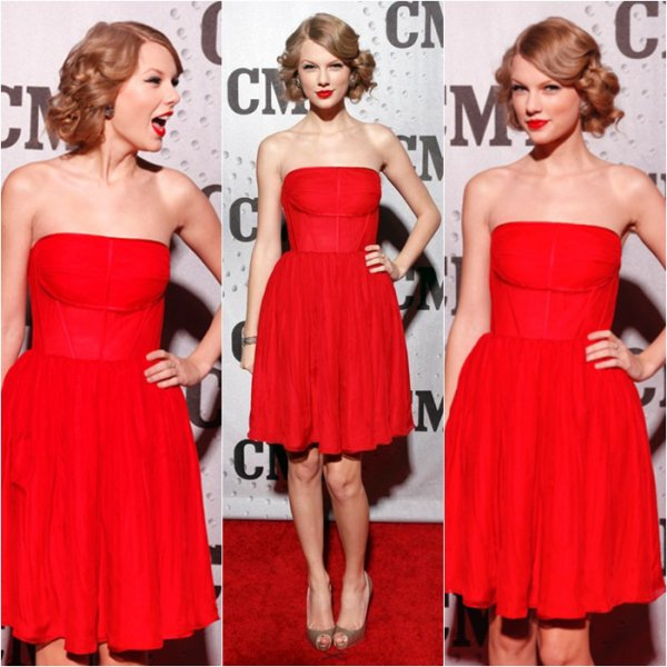 "30/11/11: Taylor Swift au ""CMT artist of the year"" à Nashville! Ton avis?"