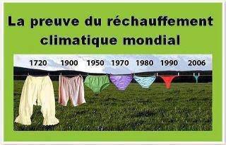 Le réchauffement de la planète n'est pas mauvais pour tout le monde ;)