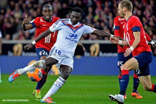 Olympique Lyonnais : B.Gomis muet
