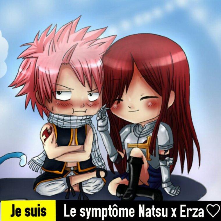 Le symptôme Natsu x Erza♡