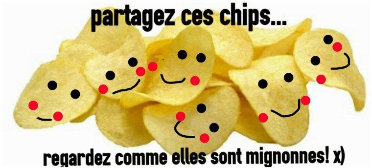 Partagez ces chips...