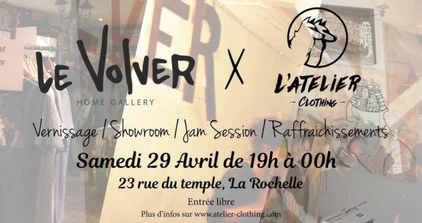 Le Volver / L'atelier Clothing / 1surrection Artistik