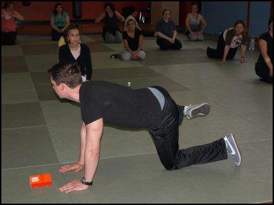 Séance de fitness .