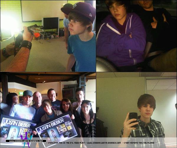 Découvrez ou redécouvrez quelques photos personelles de notre Justin provennant de son Facebook