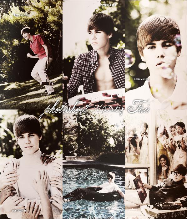 Découvrez le nouveau photoshoot pour Vanity Fair dont Justin en fera la couverture; sexy le Biebs, Admirez sa beauté.