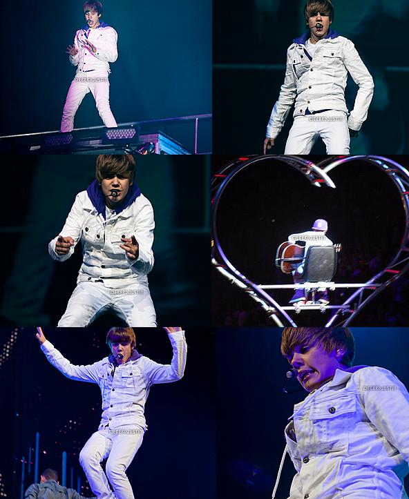 14 juillet, Justin a donné un concert au Rose Garden à Portland, dans l'Oregon dans le cadre de son My World Tour.