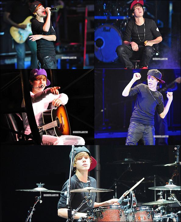 Nouveau concert de Justin ! En effet, il a donné un concert le 17 juillet dernier à Oakland en Californie.