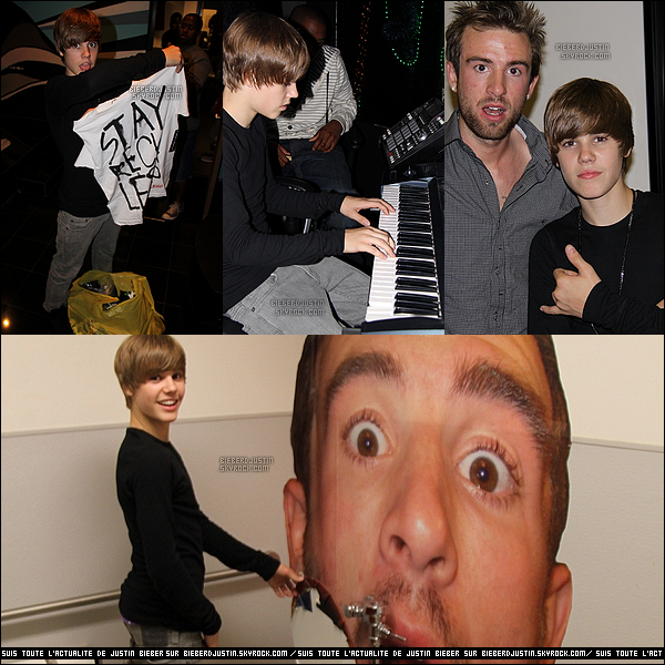 """Le 22 juillet, Justin a été vu visitant la """"Rob Dyrdek's Fantasy Factory""""."""