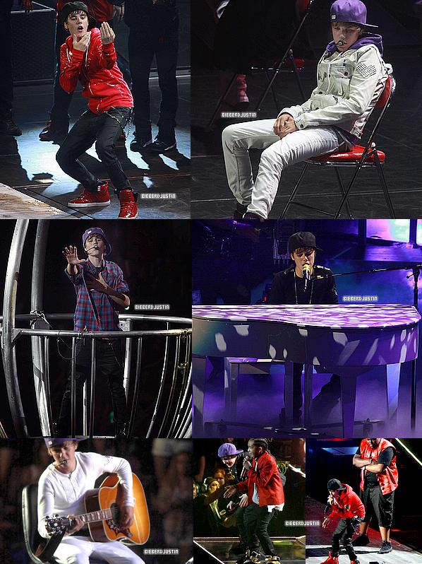 Découvrez les toutes premières photos du show de Justin au Madison Square Garden !
