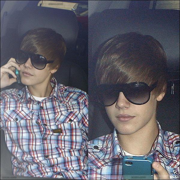 Justin a été vu se rendant au Château Marmont pour une réunion, j'adore sa chemise G-STAR.
