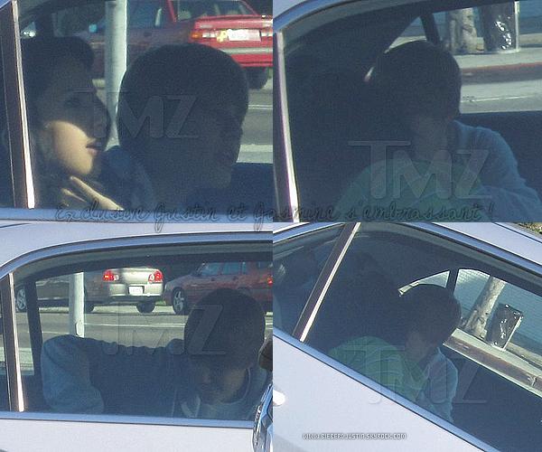 Découvrez en avant première les photos de Justin et Jasmine s'embrassant dans une voiture !