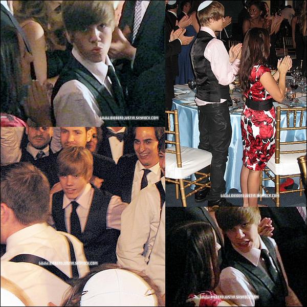 Justin a assisté au mariage de Dan Kanter accompagné de sa mère à Toronto le 3 octobre  !