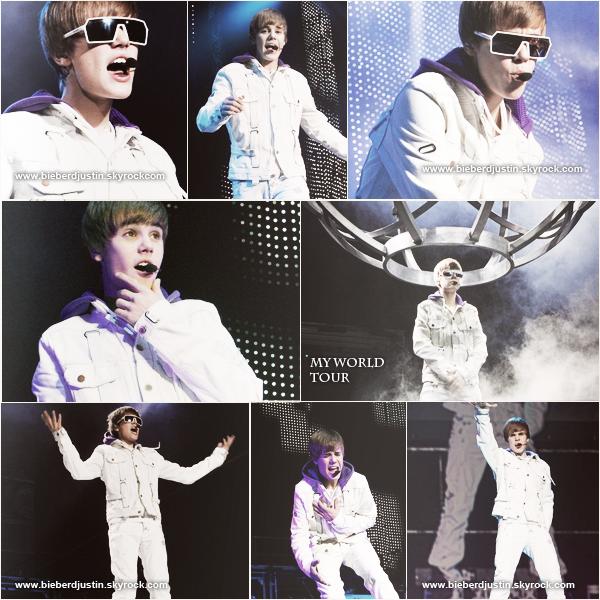 Justin a donné un concert à Atlantic City le 19 Novembre dernier.