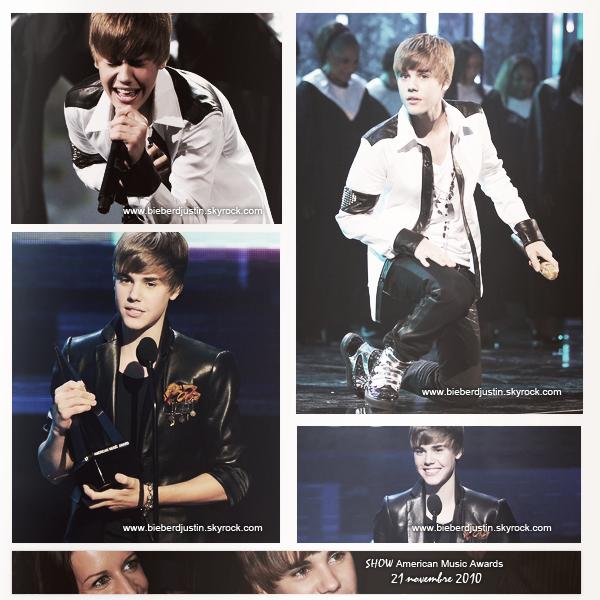 """Découvre les magnifiques photos de Justin aux """"American Music Awards"""", il a d'ailleurs remporté 4 awards, bravo Justin"""