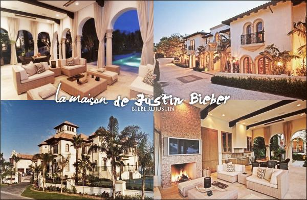 Photos de la maison dont Justin est le propriétaire et vidéo de Justin en compagnie de Selena sortant du cinéma.