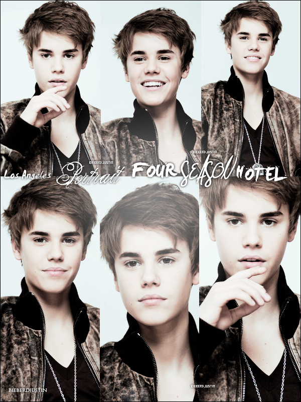 PORTRAIT DE JUSTIN POUR FOUR SEASON HOTEL ET REPETITION DES GRAMMY AWARDS