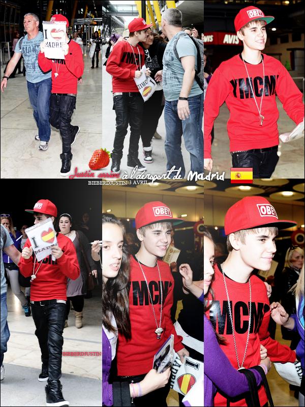 Découvrez des photos de Justin en Espagne, à Madrid les 4 et 5 avril. TOP ou FLOP ? Vos avis m'interesse sur ses tenues !