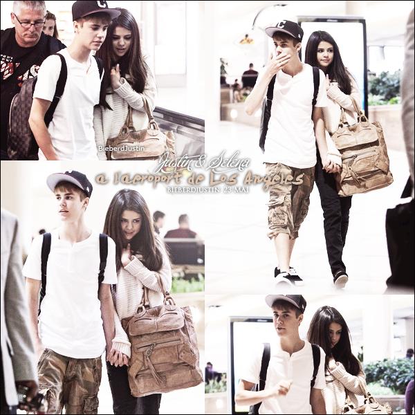 News, news, news Justin & Selena à l'aéroport de LAX et à Hawaii ...