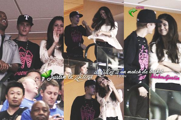 MTV Movie Awards - 5 juin, TOP ou FLOP ? et le 7 juin assistant à un match de basket avec Selena.