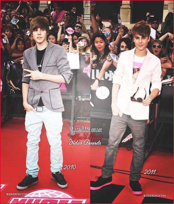 Much Music Video Awards plutôt 2010 ou 2011 ?  + Jeux :) à qui appartient cette main et ces pieds ?