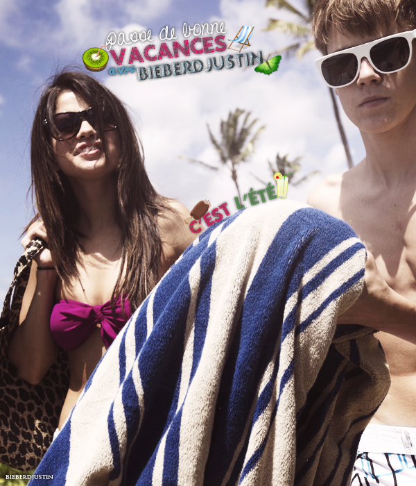 ♥ Passe de bonne vacances d'été avec Justin Bieber sur BieberdJustin ♥