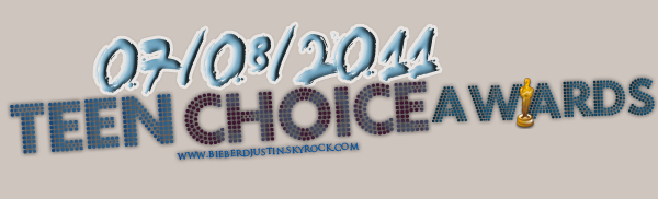 "♥ TEEN CHOICE AWARDS, remporte 4 awards : ""Choice Twit"", ""Choice Male Hottie"", ""Choice Male Artist"" & ""Choice Villain""♥"