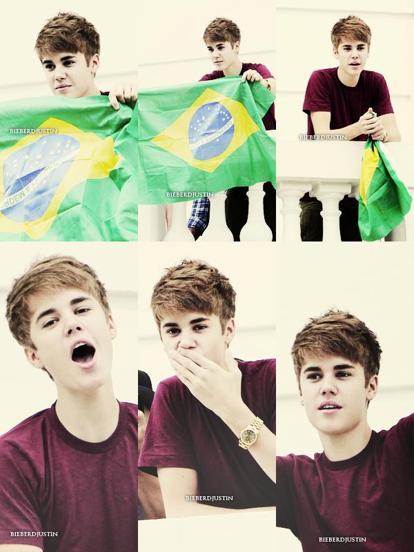 _NEW, CANDIDS_  Plus tard dans la soirée, Justin & Selena quittant un restaurant à Rio de Janeiro au Brésil.