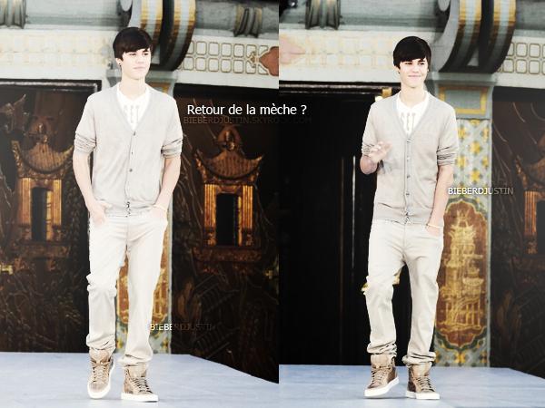 Justin assistant à la cérémonie organisée en l'honneur du roi de la pop Michael Jackson, 26 janvier.Top ou Flop ?