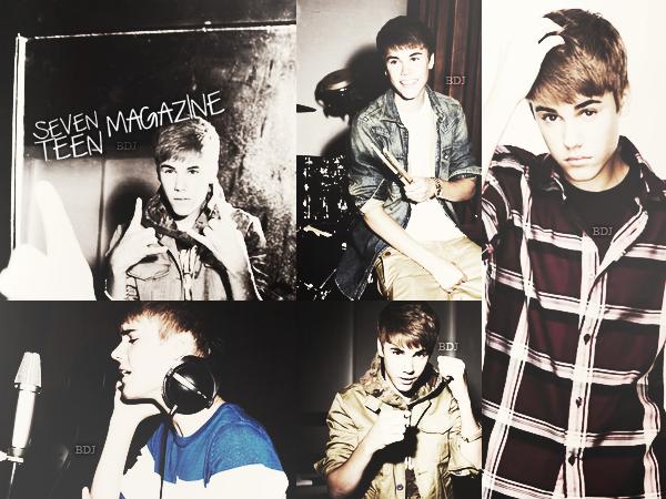SEVENTEEN MAGAZINE - Justin fait la couverture du magazine Seventeen. Alors ton avis, top ou flop, le shoot ?