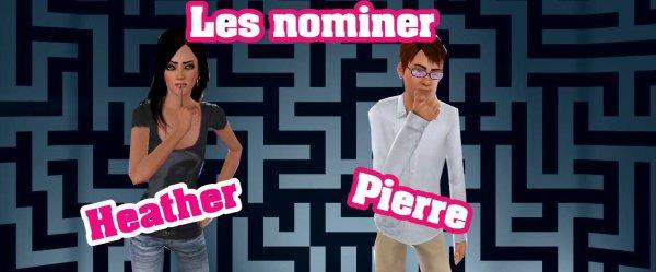 Nomination Semaine 1