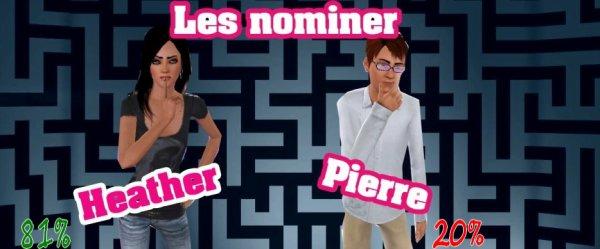 Résultat Nomination N°1