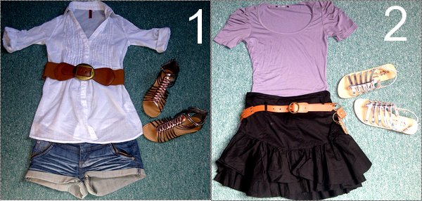 Tu préfère la Tenue 1 ou 2 ? :)