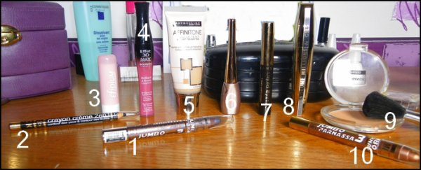 Le maquillage :) .