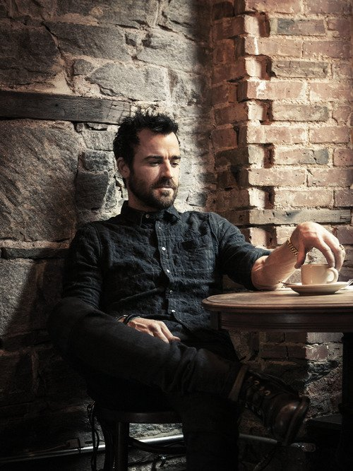 PHOTOSHOOT - Justin THEROUX pour Esquire.