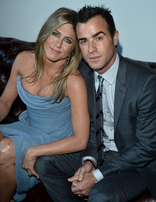 Jennifer Aniston & Justin Theroux @ 2013 Toronto International Film Festival