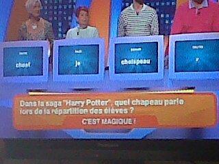 Tu voulais oublier HP ? Ca va pas être possible je croit... :P