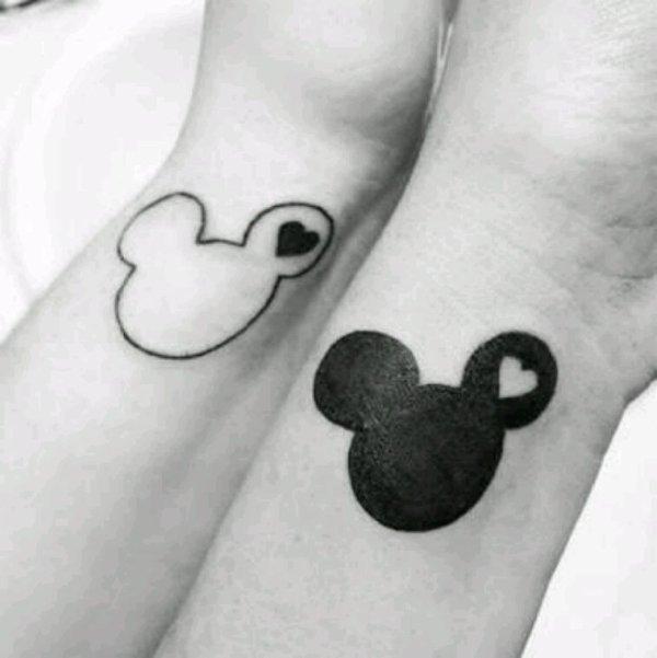 Notre tatouages avec ma~♥BFF♡~