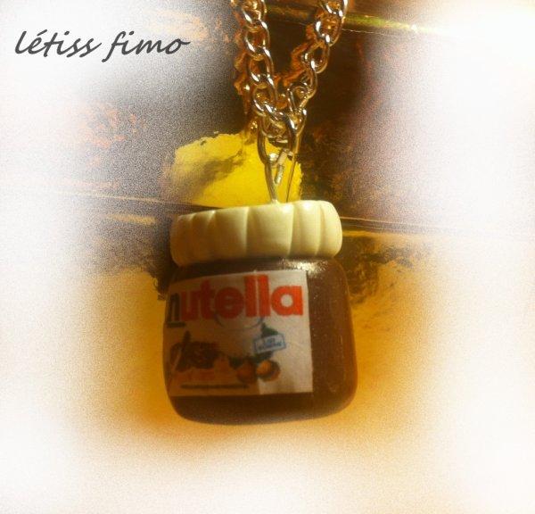collier nutella