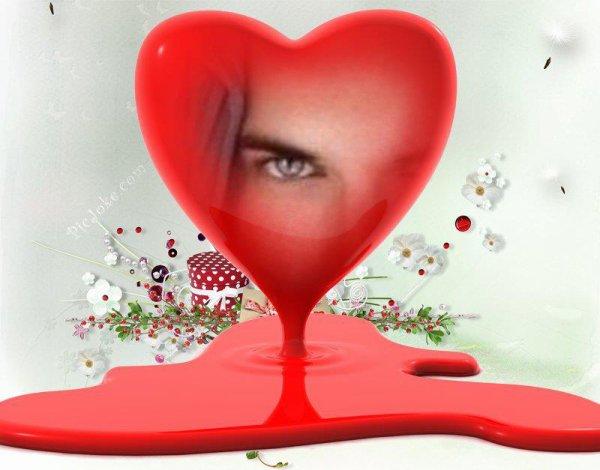 لم أسمع صوت نبض قلبي إلا حينما أحببته .. و كأني لم أملك قلبآ قبل ذلك !