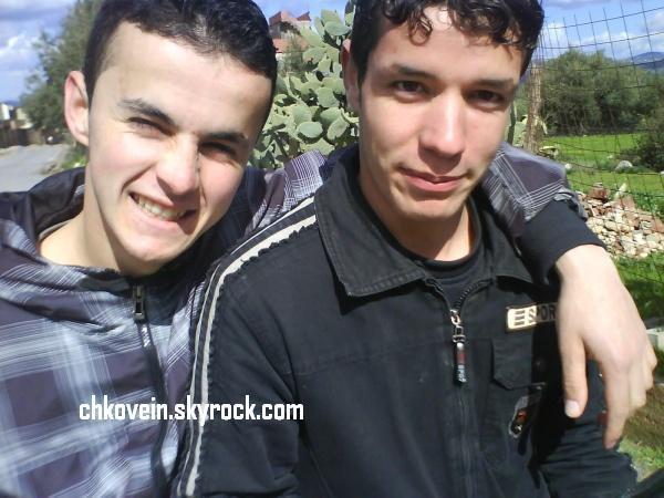 Moi  et  mon  meilleur  ami  Hakim  !! l'intelligent que Dieu ouvre les yeux de ton coeur afin que tu puisse reconnaître Jésus Christ Seigneur .