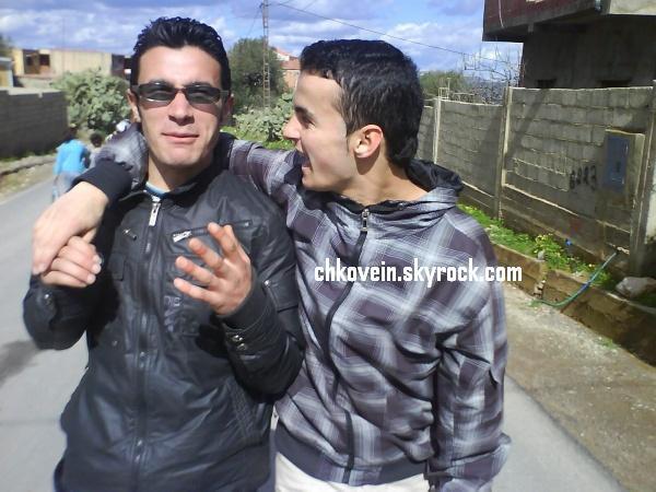 Moi  et  mon  ami  Mourad  !! Que Dieu le bénis !!!