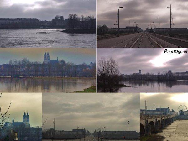 Tours - De l'autre coté de la Loire - Depuis le Pont Wilson