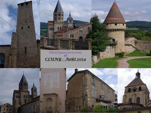 Diapo sur la ville de Cluny en Bourgogne