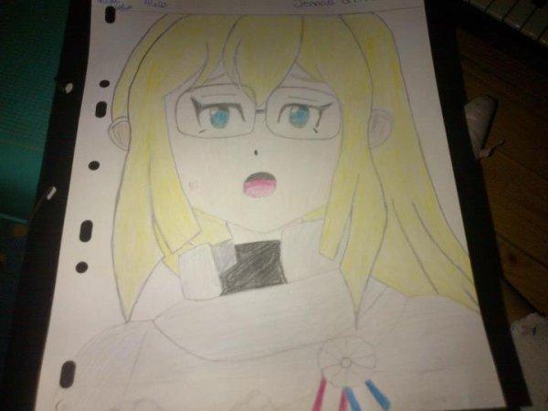 Mon dessin De Jeanne D'Arc Dans Inazuma Eleven GO Chrono Stone